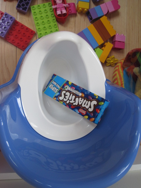 Peas, Ice Cream, Smarties and a Little Blue Potty (2/3)