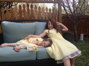 alice and adina tired