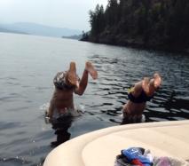boys dive