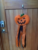 door pumpkin