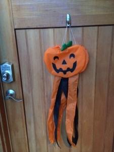 door pumpkin