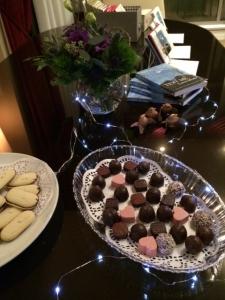 chocolates at signing