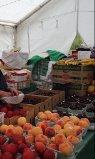 fruit in tent